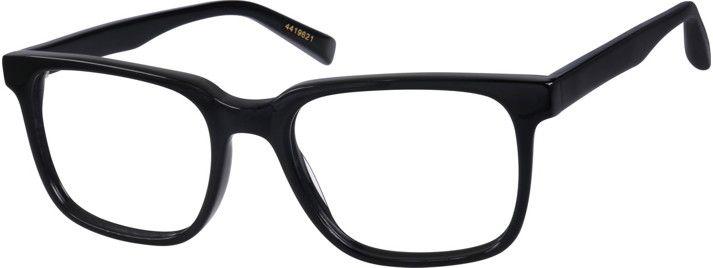 a67db1615bc Black Van Alen Square Eyeglasses 4419621