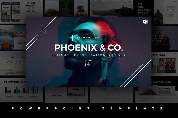 Phoenix Minimal PowerPoint Template • Available here → https://creativemarket.com/Slidedizer/520487-Phoenix-Minimal-PowerPoint-Template?u=pxcr
