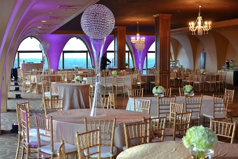 Tower Center Memphis Reception Wedding Site Wedding