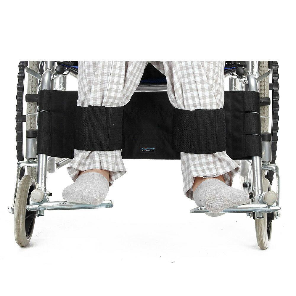 Wheelchair Footrest Leg Strap Seat Belt Medical Restraints