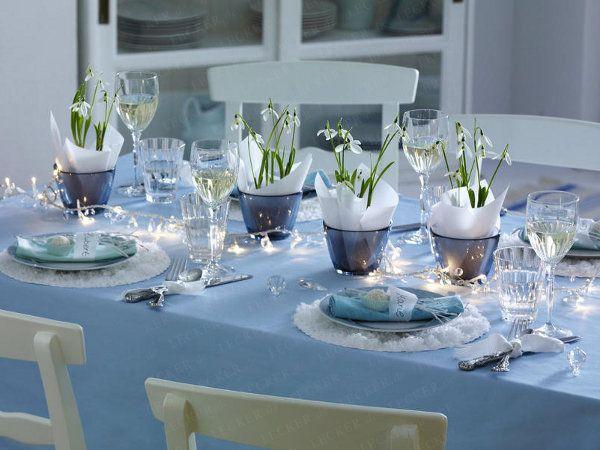 Schneeglockchen0 Wintery Flowers Winter Table Centerpieces