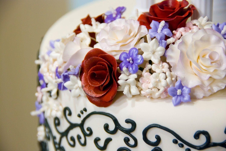 Cake cupcake topper sugar art by kaylabakemeakake on