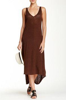 Calypso St. Barth Selbie Linen Dress