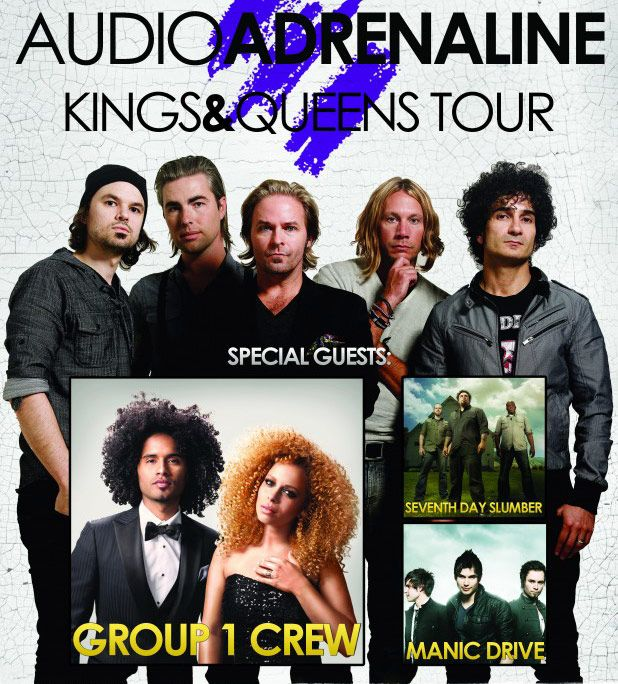 Audio Adrenaline Kings and Queens Tour