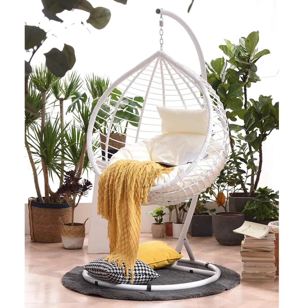 Hanging Egg Chair Swing Pod Indoor Outdoor in 2020