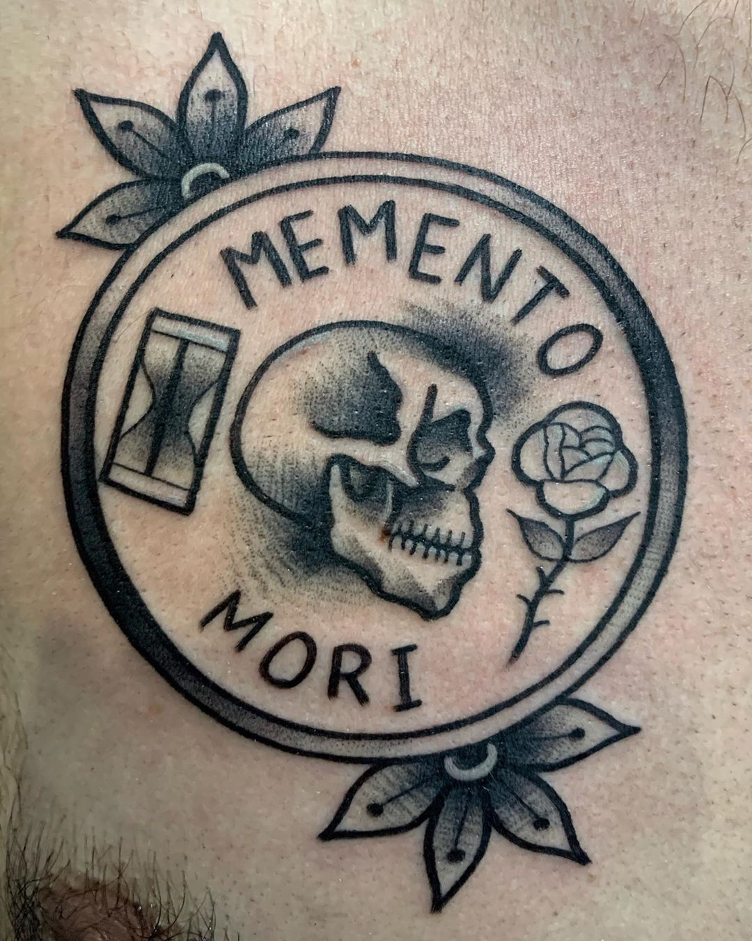 Memento Mori By Kong Tattoo For Enquiry And Appointment Kindly Message Or Email Us Thank You Ta Memento Mori Tattoo Momento Mori Tattoo Aztec Tattoo Designs