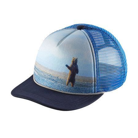 Patagonia Kids Interstate Hat - Howdy   Navy Blue  4e754d235118