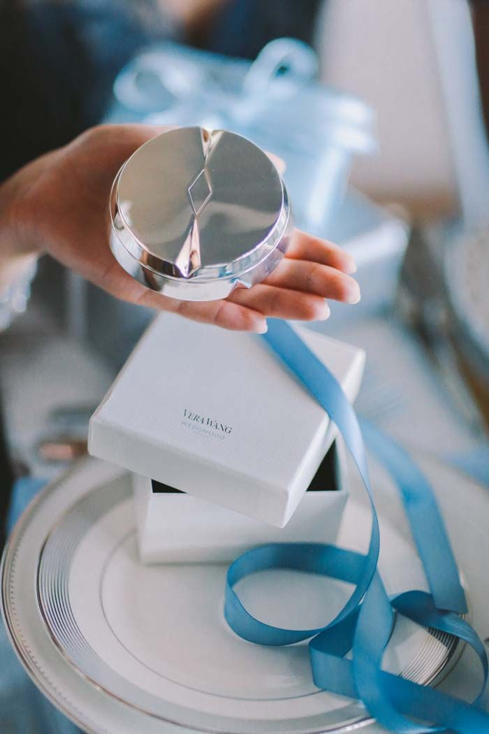 Bridal Shower Gift Idea Vera Wang Wedgwood Peplum Jewellery Box