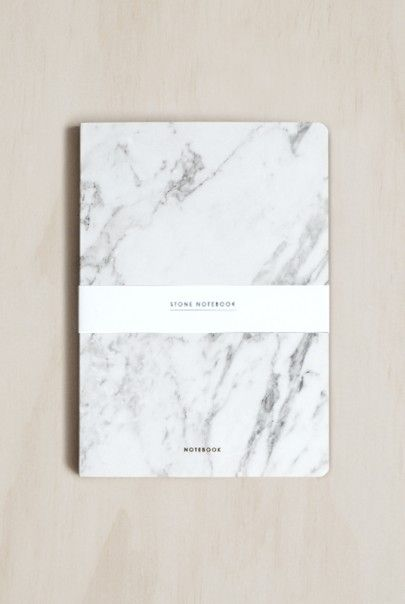 Dear Maison Marble Stone Notebook  Notebooks