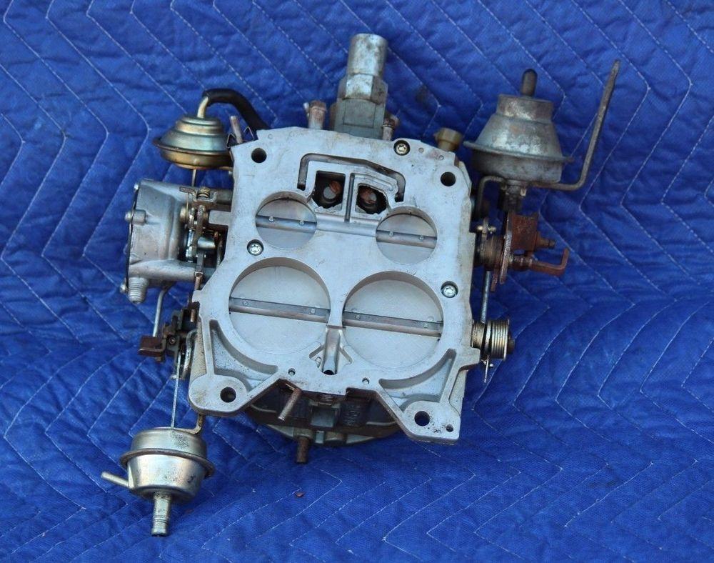Rochester Quadrajet 4 Barrel Carburetor 17084254 2923 Htx Gm Buick Oldsmobile Rochester Buick Vintage Collection Oldsmobile