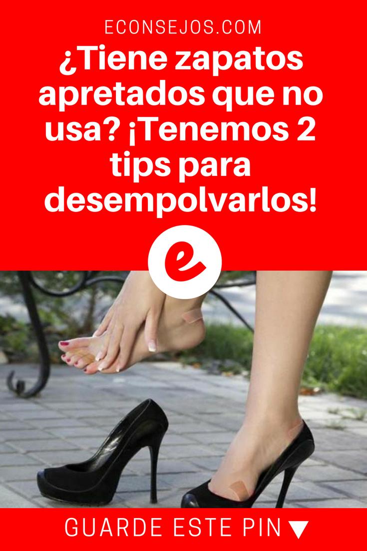 Truco Para Estirar Los Zapatos Apretados En Tan Solo 3 Pasos Cómo Agrandar Zapatos Zapatos Y Como Caminar Con Tacones