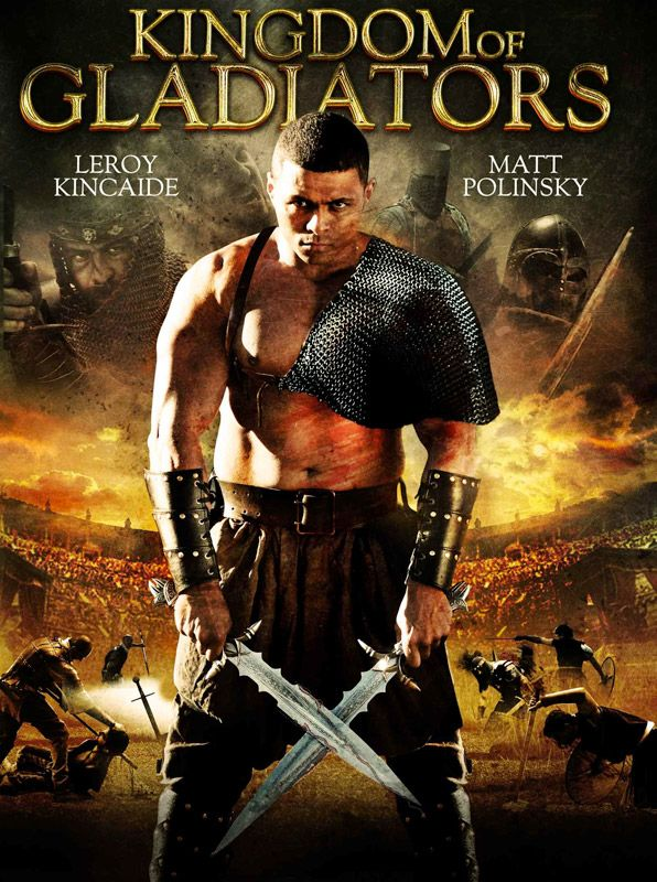 poster of kingdom of gladiators 2011in hindi english