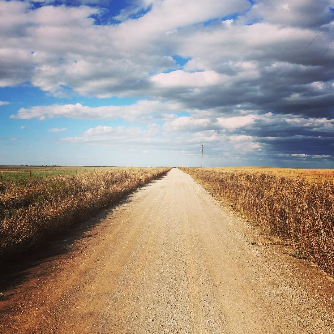 The endless roads of Oklahoma