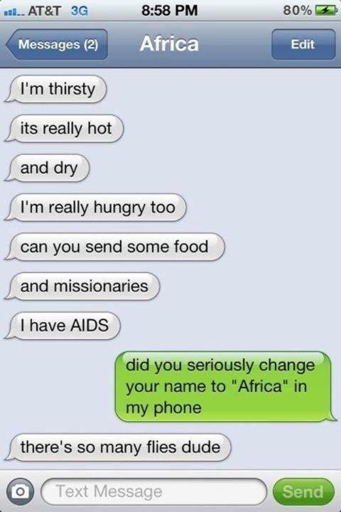 Africa. #i'mthirsty