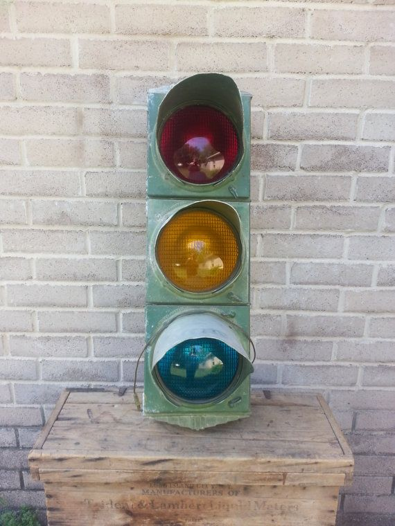 Art Deco Working Traffic Light, Gift for Dad, Fathers Day ...