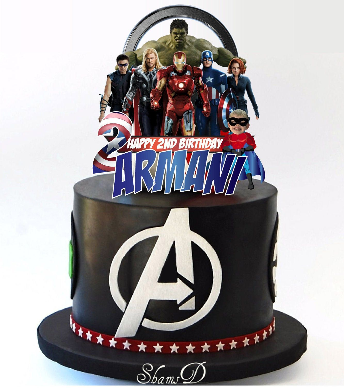 Superb Avengers Hero Marvel Birthday Party Cake Topper In 2020 Party Funny Birthday Cards Online Inifodamsfinfo