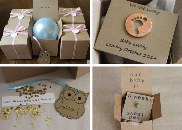 12 Creative Pregnancy Announcement Ideas Announcement