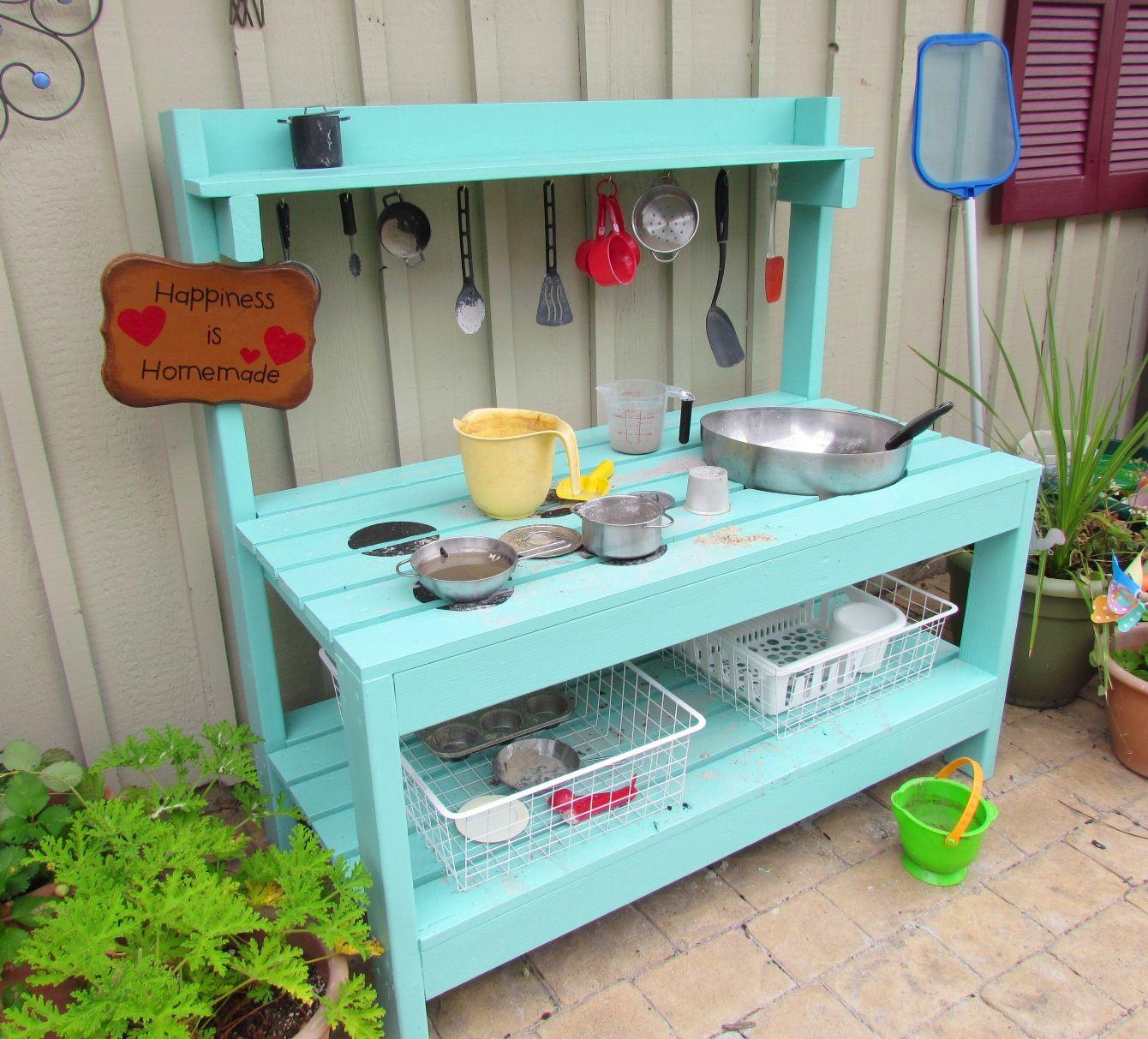 Mud Kitchen Signs: Spielküche, Draußen