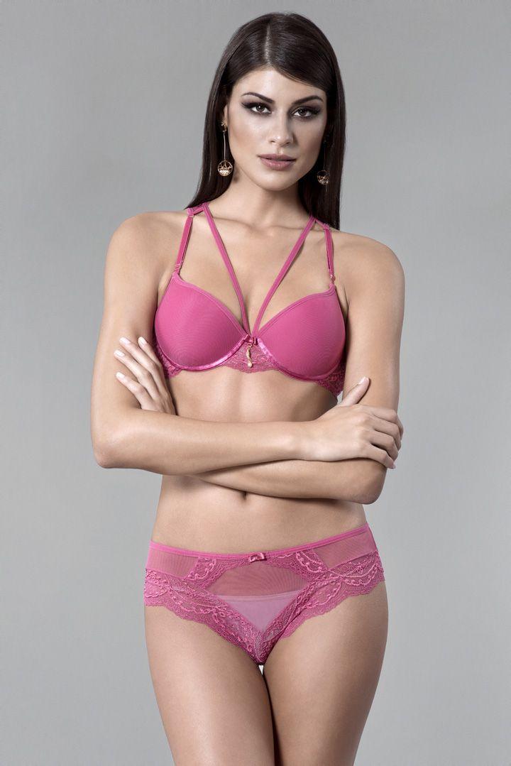 Conjunto de lingerie super delicado e sofisticado