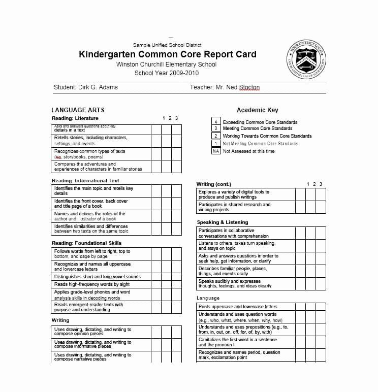 Report Card Template Free Lovely 30 Real Fake Report Card Templates Homeschool High School Report Card Report Card Template Card Template