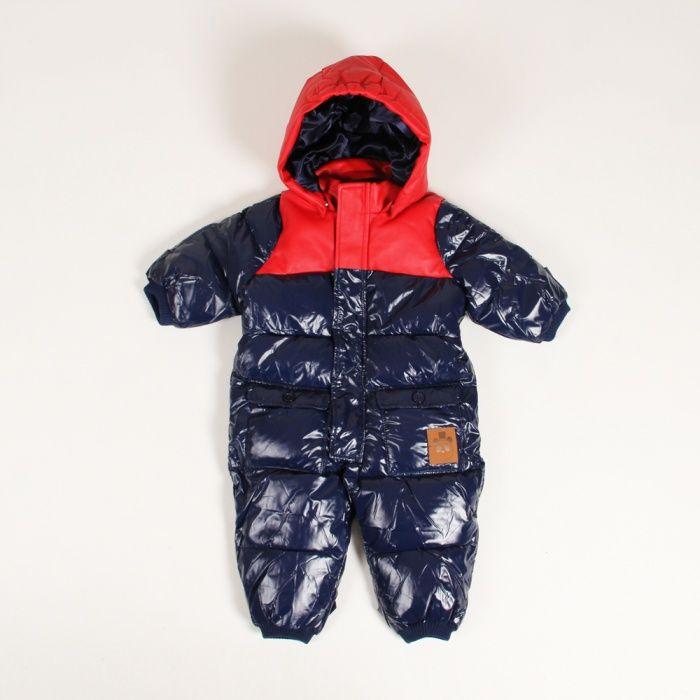mini rodini puff baby overall
