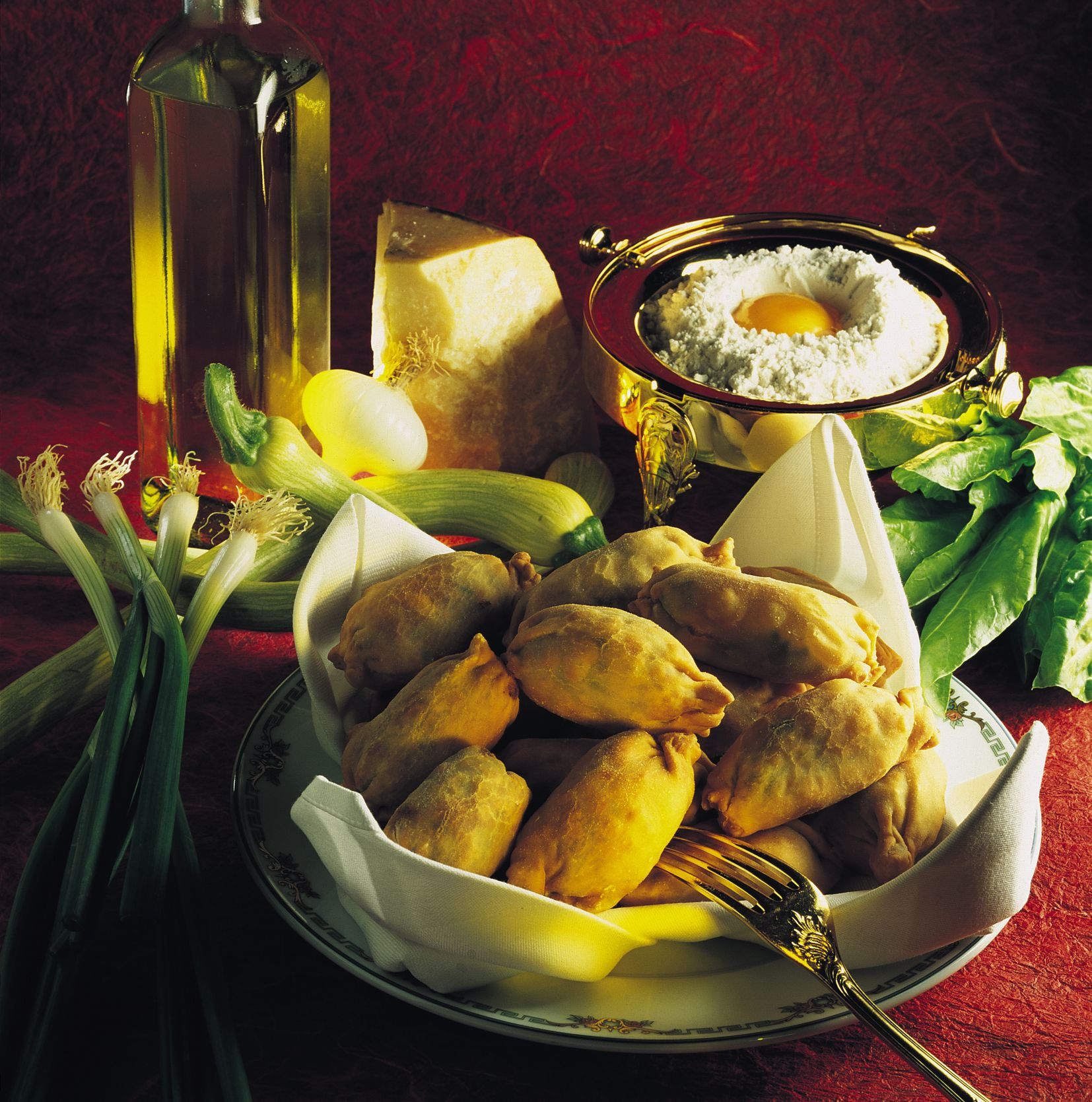 Another picture of Barbajuans, which are HSH Prince Albert's favorite snack!