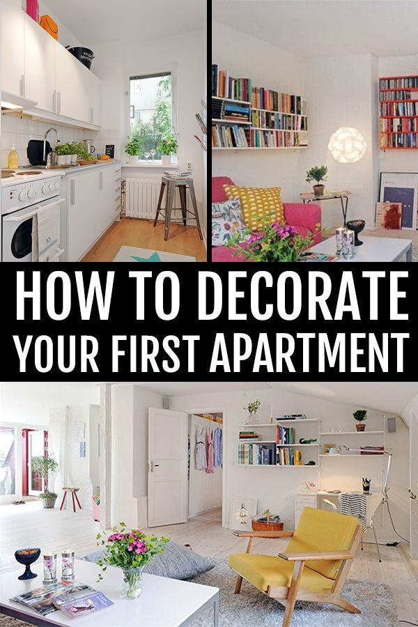 How To Decorate Your First Apartment Apartment Inspiration Apartment Living Room Apartment Room
