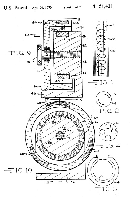 f61b5dddac8 Patent US4151431 - Permanent magnet motor - Google Patents. this motor will  last over a 100 years