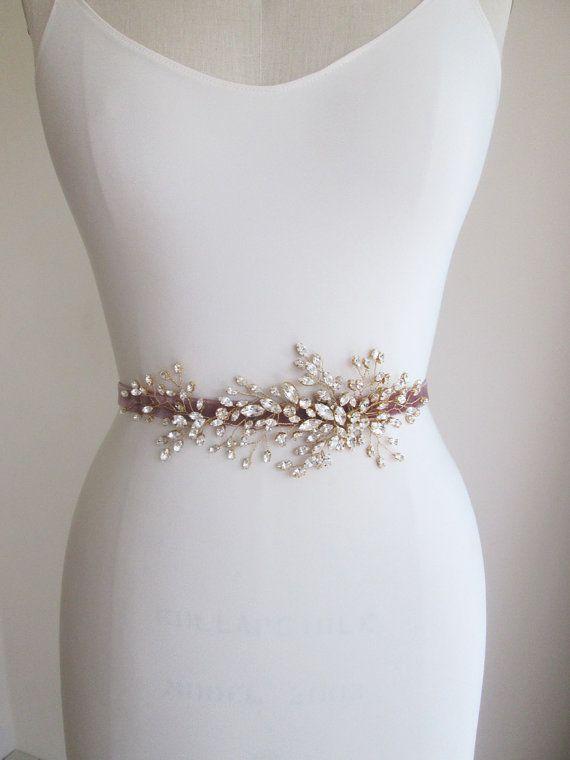 bridal swarovski crystal belt sash, wedding crystal belt, swarovski