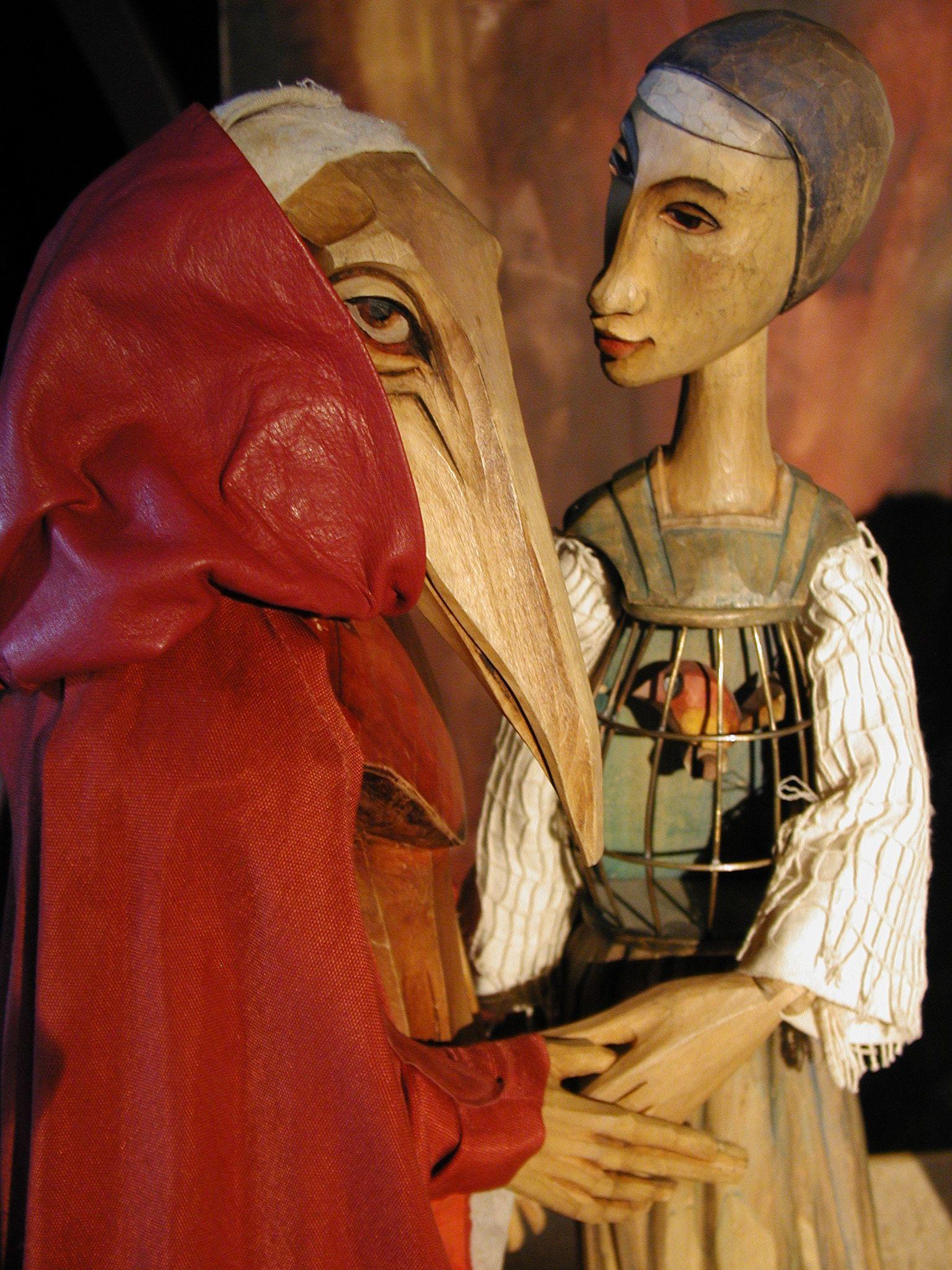 """Tineola """"Haywain"""" puppets"""