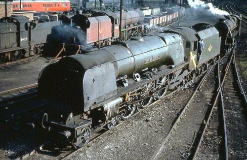 Details About Colour Rail Slide Br 1538 Of 46237 Lmr Coronation