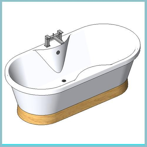 Venice Light Oak And Kubic Bath Filter Light Oak Revit Architecture Revit Components