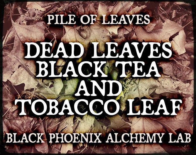 Dead Leaves, Black Tea, and Tobacco Leaf Perfume Oil   Black Phoenix