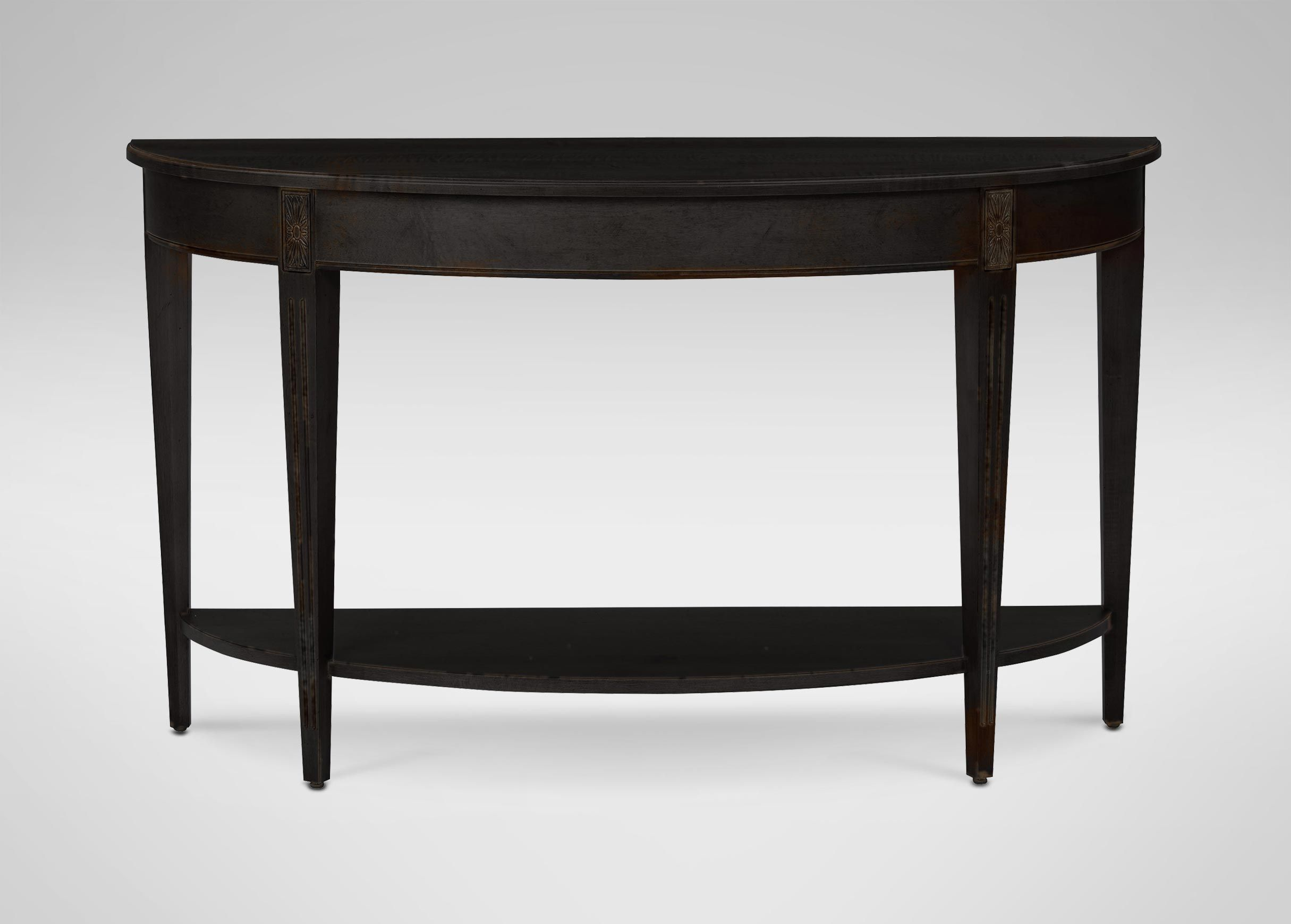 Buy Ethan Allenu0027s Barrow Sofa Table Or Browse Other Products In Console  Tables.