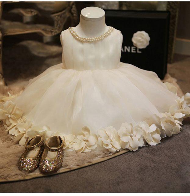 590e6ca3a Ls-1 bebé ropa dulce pétalo vestido para recién nacido - 15 T niñas ...