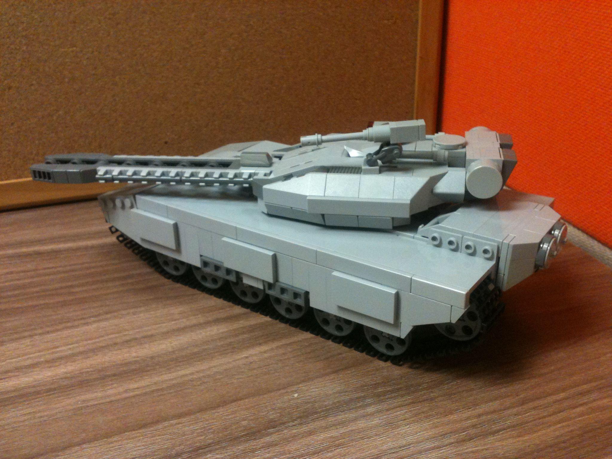 Lego MOC, MBT Fobos, Railgun Tank. Version 2.0 WIP, chasis length ...