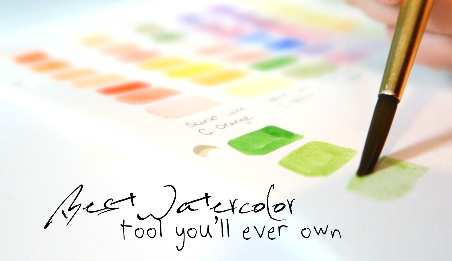Best Watercolor Tool You Ll Ever Own Watercolour Tutorials