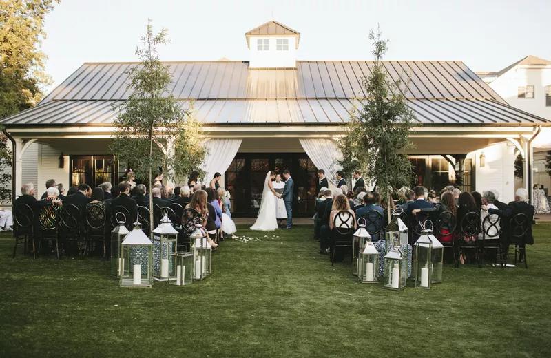 Backyard Wedding Ideas 40 Ways to Say 'I Do' in Your Backyard