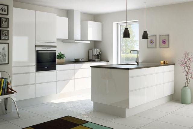 hvidt køkken - Google-søgning