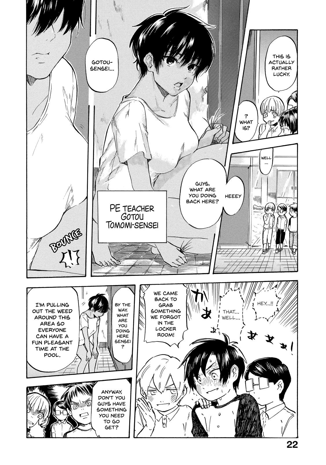 Read Manga Eguchi Kun Wa Minogasanai Ch002