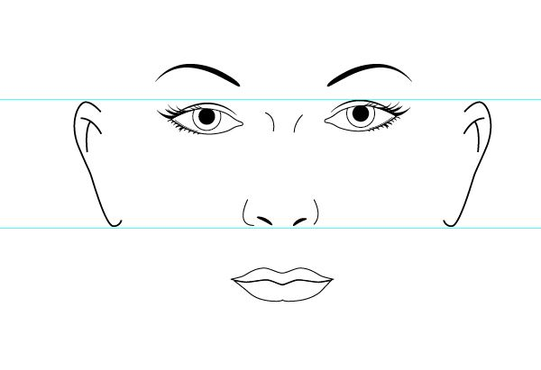 image about Printable Face Templates called Human Experience Template Printable CRAFTS- Portray MEDIUMS