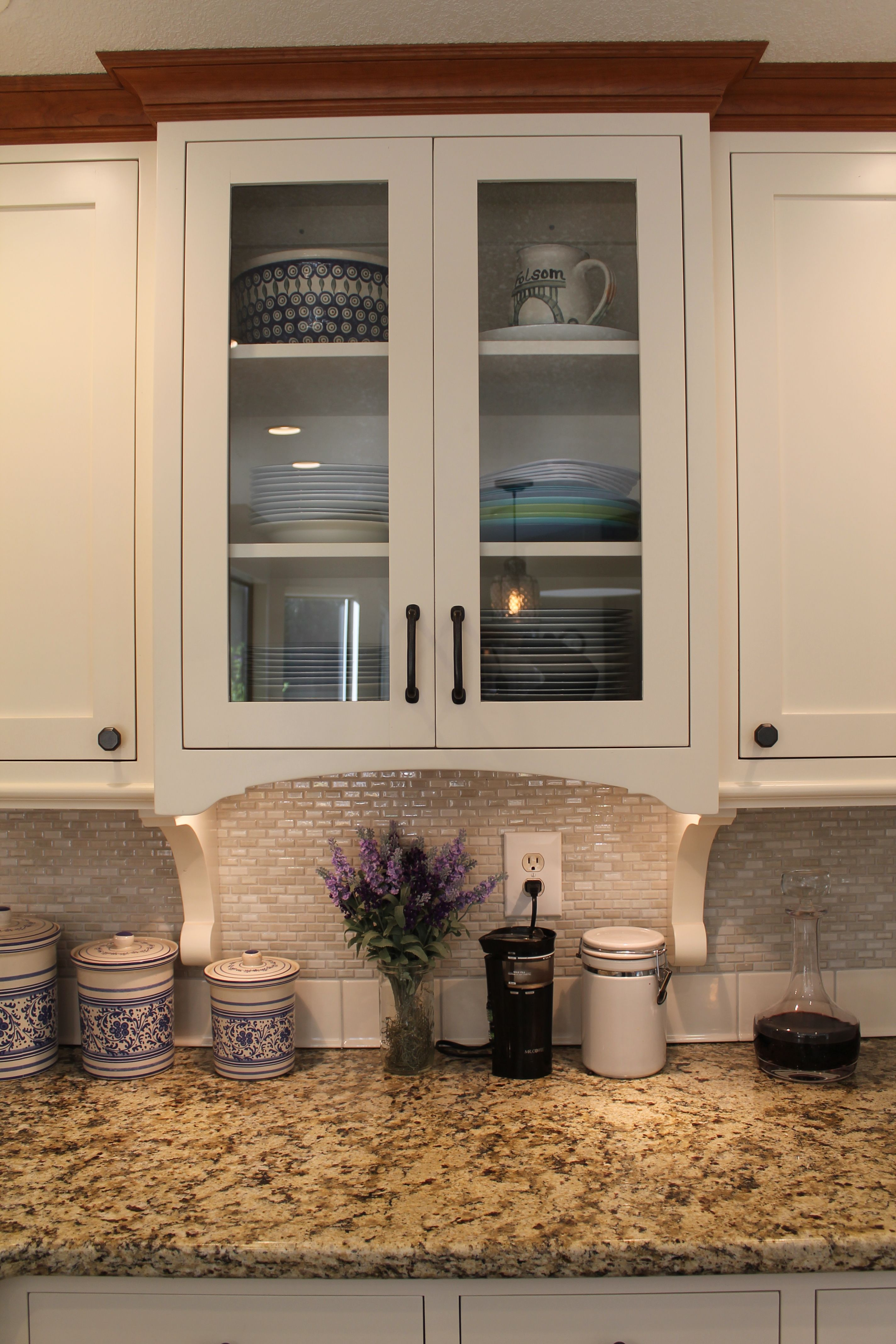 It all started with custom cabinetry in Sherwin Williams ...