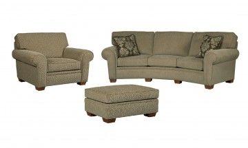 Broyhill Miller Conversation Sofa 5300-3Q