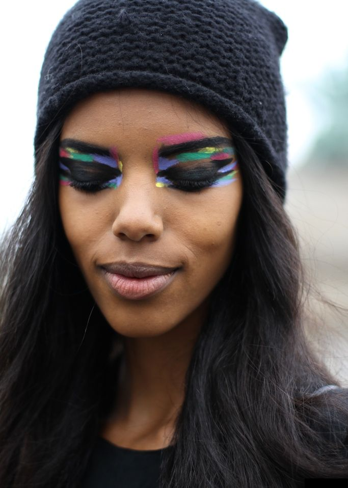 Avantgarde Eye Makeup Avant Garde Makeuphair Pinterest Make