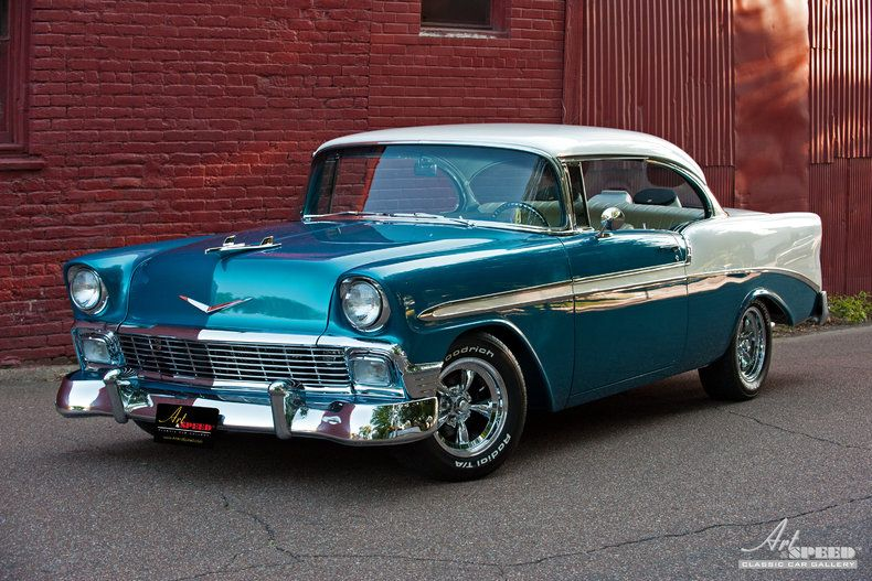 1956 chevrolet bel air 2 door hardtop is americana at its for 1956 chevy belair 4 door for sale