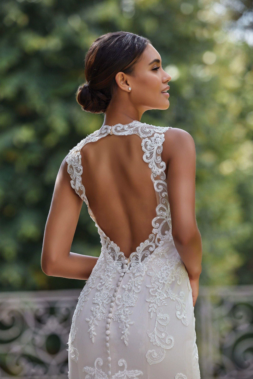 Sincerity Bridal 44142 Amazing Fitted Wedding Dress With A Beautiful Keyhole Back Stunning Ke Sincerity Wedding Dress Wedding Dress Backs Sincerity Bridal