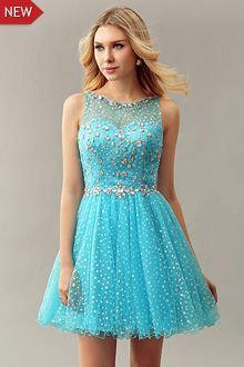 2dd254e14d72 Blue Prom Dresses Short - P3155 | 8th grade dance in 2019 | Grade 8 ...