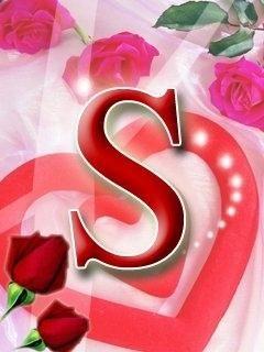 Letter S Letter S In Heart Wallpaper