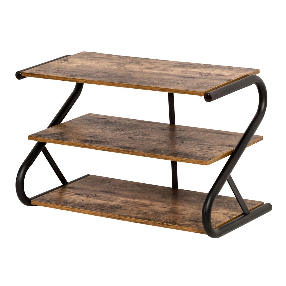 Honey Can Do Z Frame 9 Pair Rustic Finish Shoe Organizer In 2020