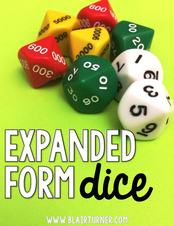 10 Ways To Work On Expanded Form Tons Of Freebies Math Expanded
